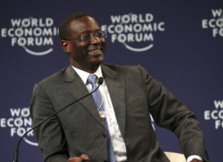 Tidjane Thiam au World Economic Forum