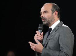 Edouard Philippe lors d'une intervention en novembre 2018
