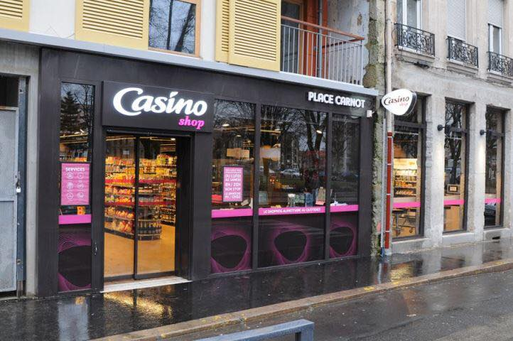Une enseigne du Groupe Casino