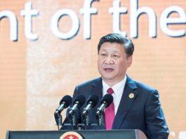 Xi Jinping, lors du 19e Congrès national du PCC en 2017