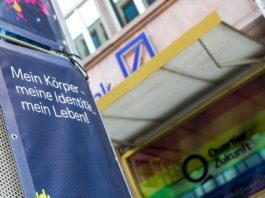 Devant du siège de la Deutsche Bank