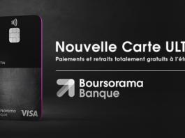 l'affiche publicitaire de Boursorama Banque pour son offre Ultim