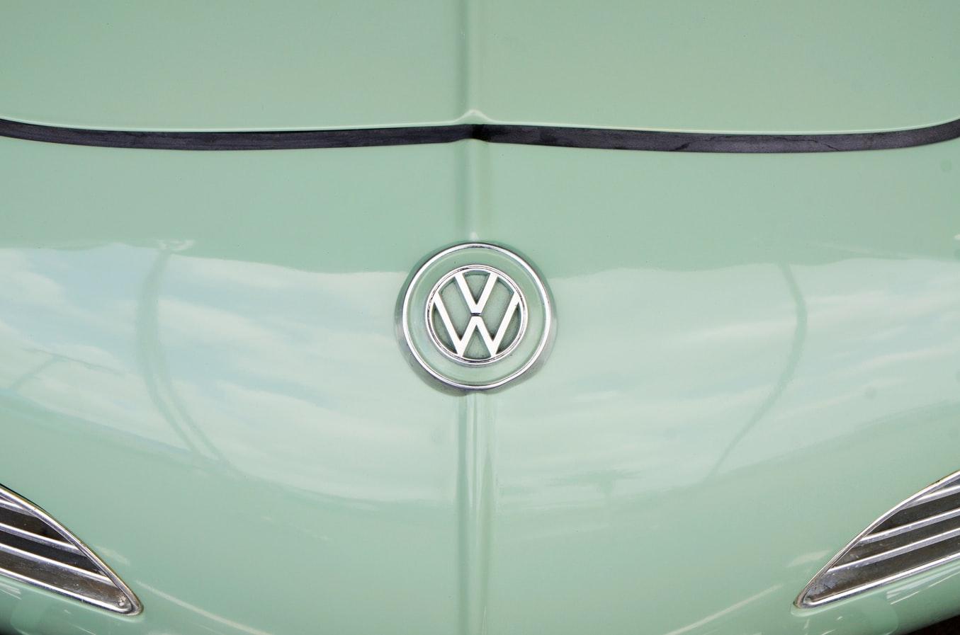 La devanture d'un modèle Volkswagen