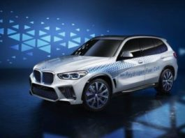 Le prototye de la BMW i Hydrogen (Photo)