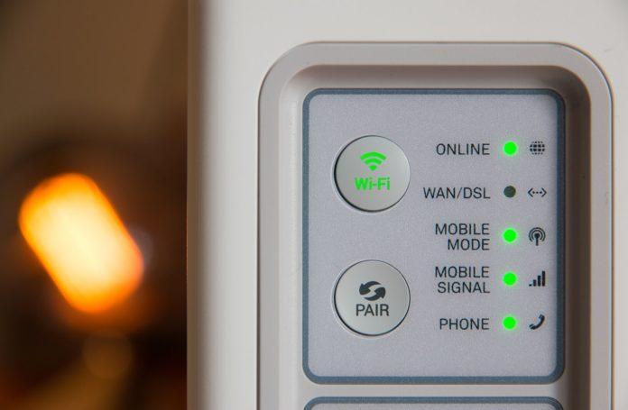 Un modem avec Wifi actif
