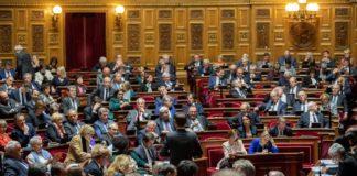 Lors d'une session au sénat en octobre 2019.