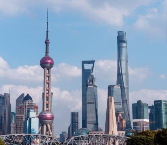 Des buldings de la métropole chinoise de Shanghaï.