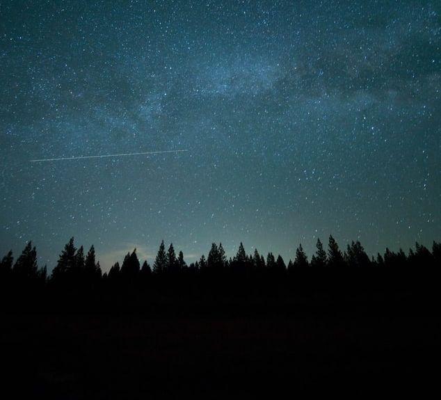 Un ciel étoilé.