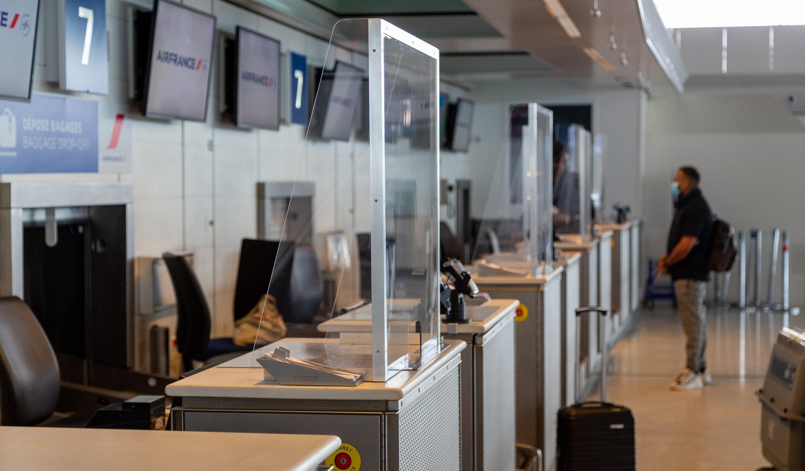 Au sein de l'aéroport Roissy (Photo Groupe ADP).