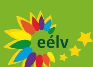 Logo du parti Europe Ecologie-Les Verts (EELV) .