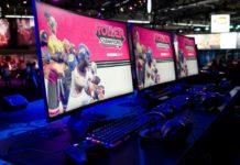 Des écrans et manettes de jeux vidéos (Photo : Ubisoft).