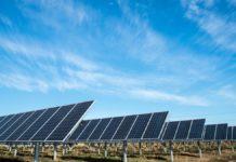 Une centrale solaire aux Etats Unis.