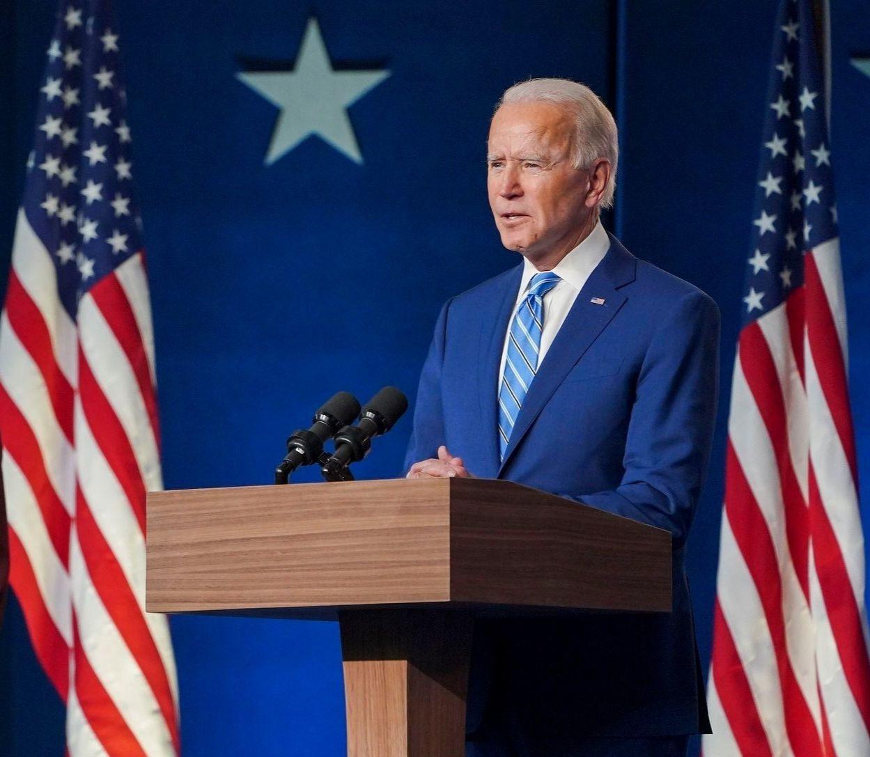 Joe Biden, nouveau président des Etats Unis.